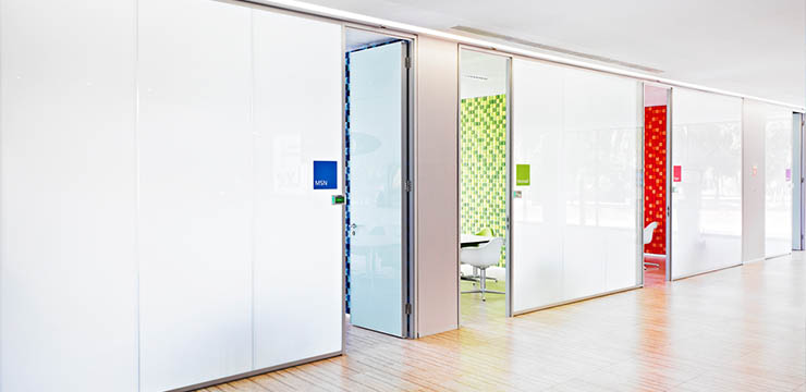 SmartGlass Privacy Door Wall